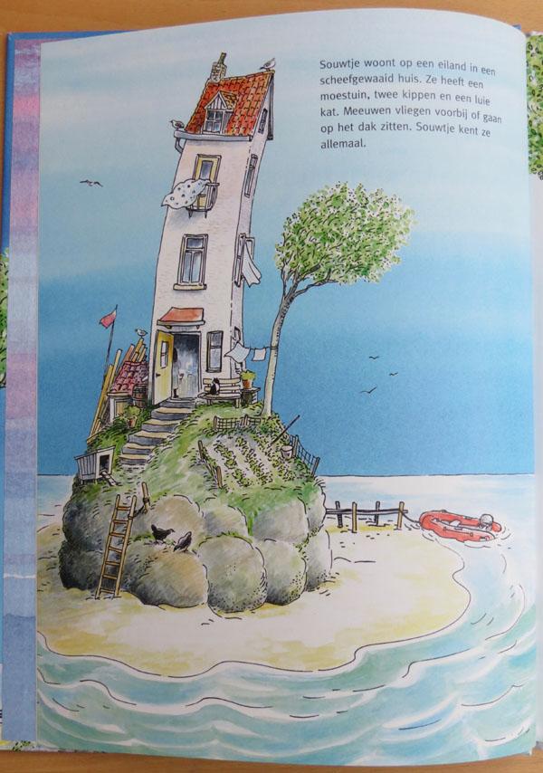 pagina uit boek Souwtje