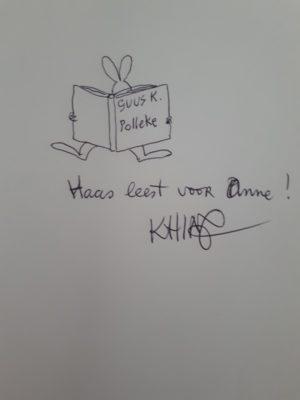 Haas - originele illustratie Thé Tjong Khing