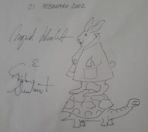 Originele illustratie Ingrid en Dieter Schubert