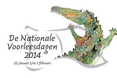 logo nationale voorleesdagen 2014
