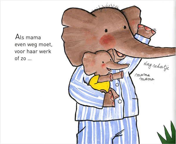 Illustratie uit de Wiebelbillenboogie, prentenboek van het jaar 2010