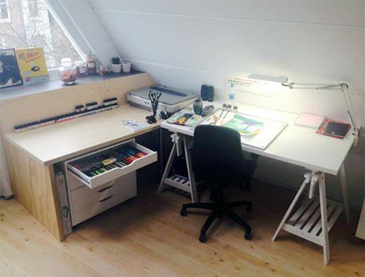 Het Atelier van Loes Riphagen
