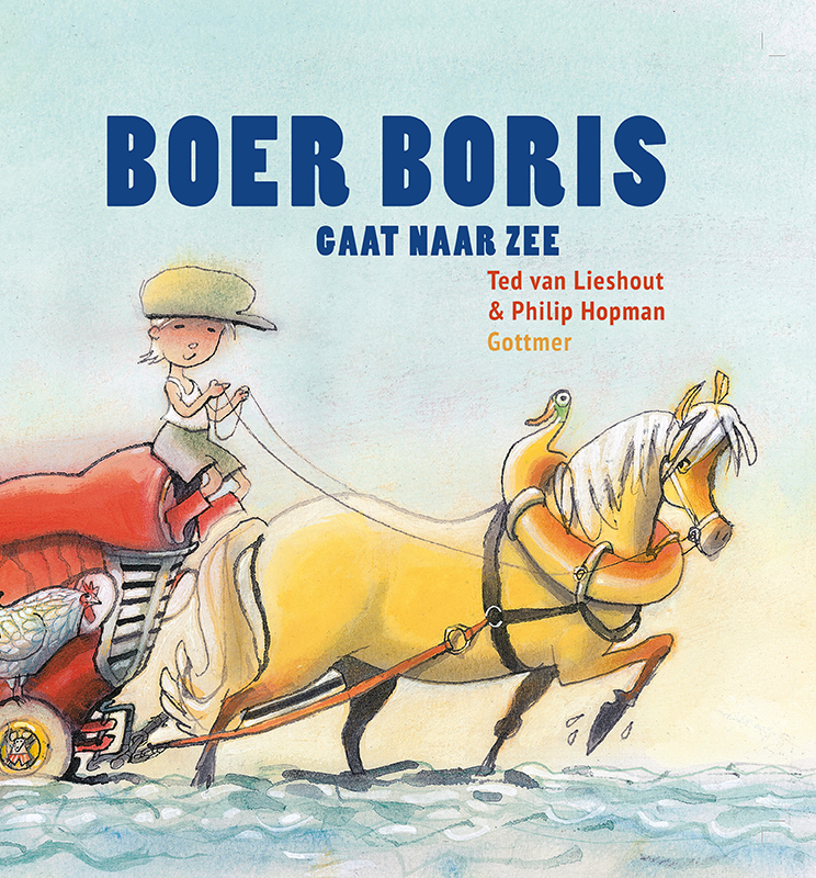 Boer Boris gaat naar zee is een uitgave van Gottmer