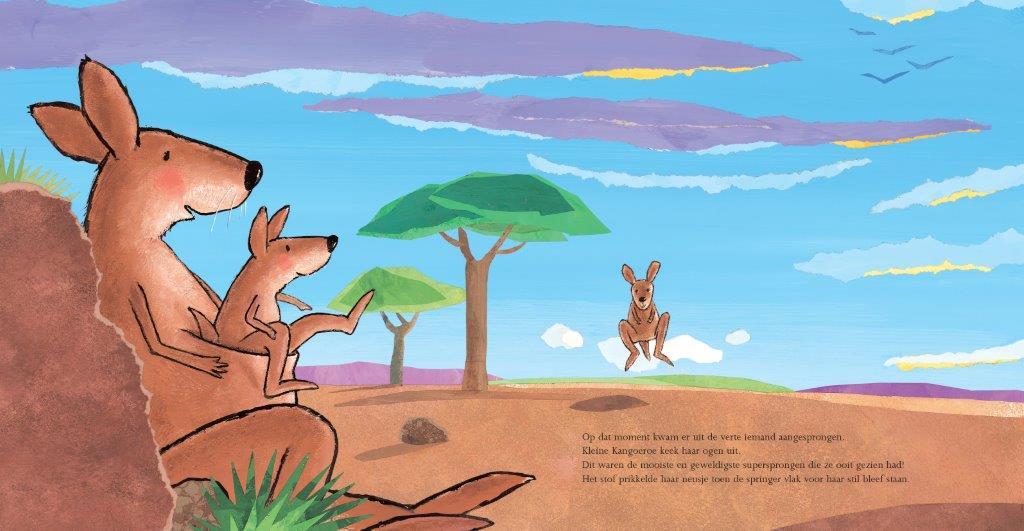Prentenboek van het Jaar 2007, Guido Genechten, Kleine Kangoeroe, Clavis