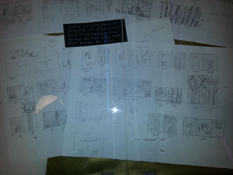 Storyboards Fabians Feest