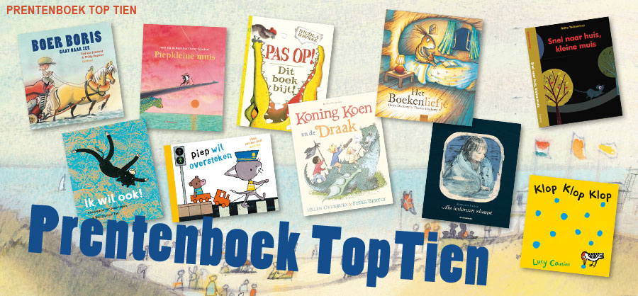 Prentenboek top 10 Nationale Voorleesdagen 2015