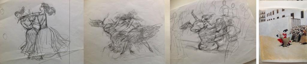 Van schets naar illustratie, Khing, Carmen, 2012, Groothof, Gottmer
