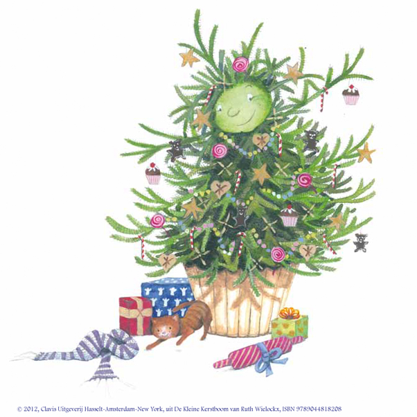 """Illustratie uit """"De Kleine Kerstboom"""