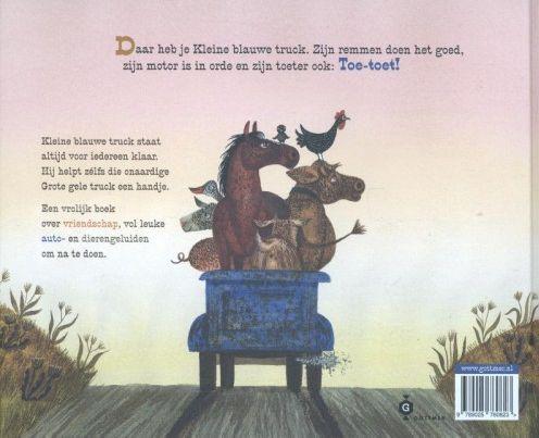 Kleine blauwe truck, Alice Schertle & Jill McElmurry (ill.)