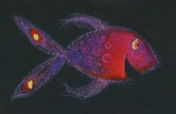 """Vrolijke vis uit """"Vrolijk"""""""