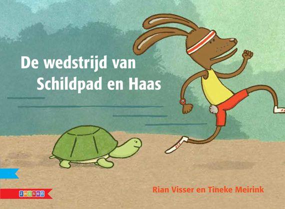 De wedstrijd van schildpad en haas, Rian Visser en Tineke Meirink, Zwijsen, 2013