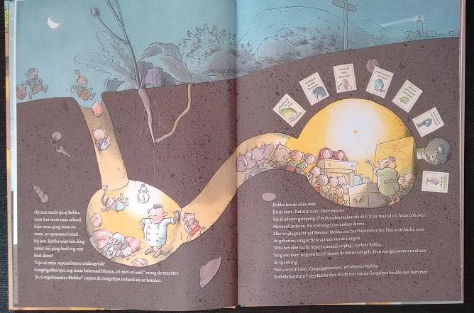 De wereld van de Gorgels, Jochem Myer, Illustraties Rick de Haas, Leopold 2016
