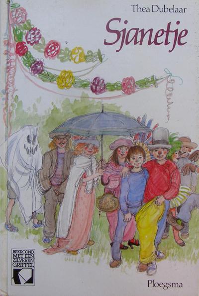 Sjanetje van Thea Dubelaar, Illustrator Mance Post