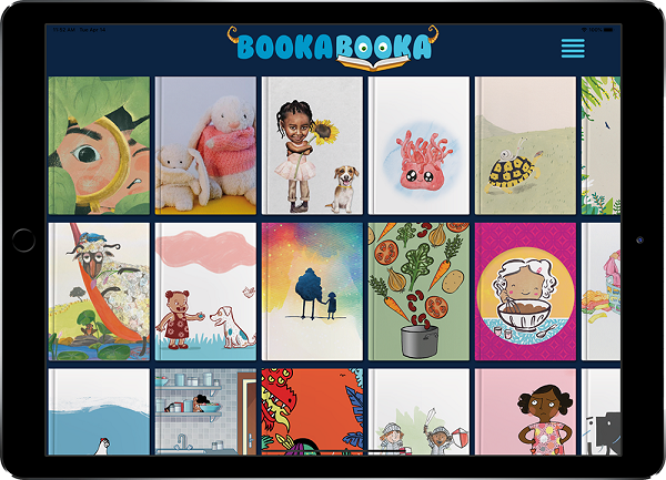 Bookabooka op de iPad